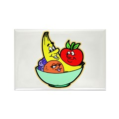 Fruit Friends Rectangle Magnet