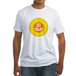 Go Solar (Fitted T-Shirt, Made in the USA)