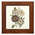 Chrysanthemum Art Plaque