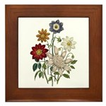 Dahlia Art Plaque
