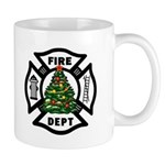 Christmas gift mugs for firefighters personalized with our fire dept designs! Now your gift coffee and cocoa mug can match your firefighter t-shirts, clocks and tote bags! Click to visit our firefighter holiday gift ideas.......