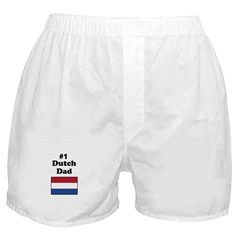 1 Dutch Dad  Family Boxer Shorts by CafePress