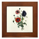 Poppy Art Plaque