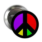 Multicolored Peace Sign (ten buttons)