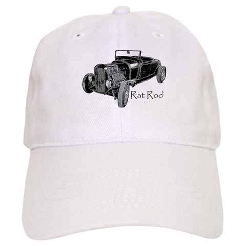 -RAT ROD Hobbies Cap by CafePress