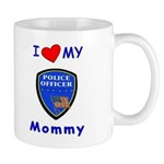 I Love My Police Mommy Mug