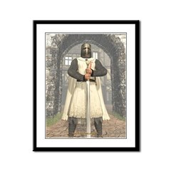 Knight Templar 01 Framed Panel Print