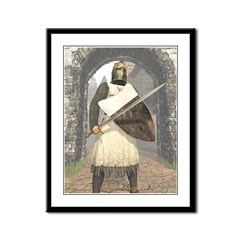 Knight Templar 02 Framed Panel Print