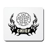 Featuring mousepads for the fire chief's desk at home or in the fire station!  Mousepads with firefighting themes and personalized gifts for the home and office.......