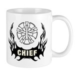 Coffee mugs personalized for the fire chief featuring firefighter tattoo designs on coffee mugs, travel mugs and cocoa mugs in a variety of sizes and styles! Click to browse our custom mugs for fire chiefs here...