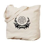 Fire Chief tote bags and personalized gifts with our firefighter tattoo designs!  Our tote bags, t-shirts, ceramic coffee and travel mugs with matching clocks and watches are perfect gifts for the Fire Chief!  Click to browse our fire chief designs here.......