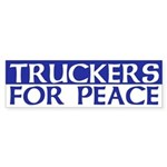 Truckers for Peace (bumper sticker)