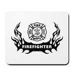 Firefighter mousepads with fire and flames designs! Decorate your home or office with our mouse pads, perfect gift ideas for firefighters, rescue and EMT's!