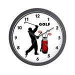 Custom clocks with golf themes and golf lovers gifts for firefighters!  Browse our golf t-shirts, funny themes and clocks here.......