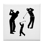 Golf Club Tile Coaster