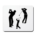 Golf Club Mousepad