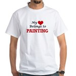 My heart belongs to Painting T-Shirt