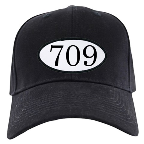 '709'  Newfoundland Black Cap by CafePress