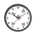 Butterfly Wall Clocks for nature lovers