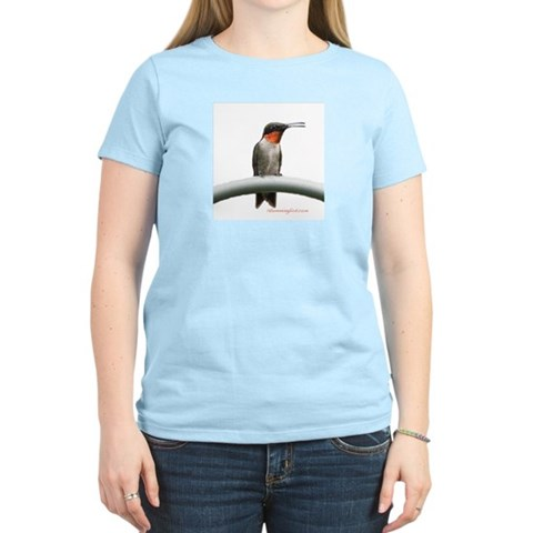 Hummingbird T-Shirt  Photography Women's Light T-Shirt by CafePress