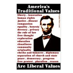 Traditional Values Postcards Box