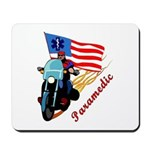 Paramedic Biker Mousepad, gift clocks, mugs and firefighter apparel.