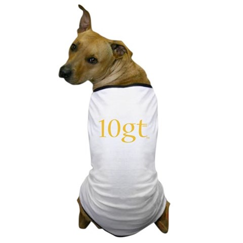 10GT   Dog T-Shirt by CafePress