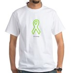 Lime Outline. Strong T-Shirt