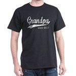 Grandpa since 2017 T-Shirt