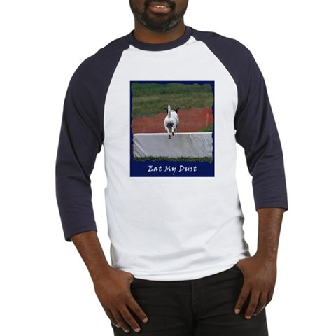 'Eat My Dirt'  Pets Baseball Jersey by CafePress