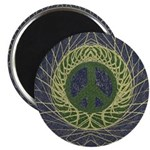Mandala Peace Sign (Magnet)