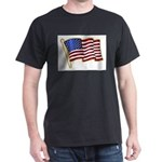 Stars And Stripes Pin Padge T-Shirt
