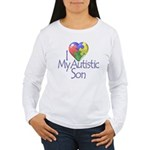 My Autistic Son Women's Long Sleeve T-Shirt