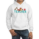 Apparel for teachers includes tee's, shirts, sweats, hooded sweat shirts and ties!