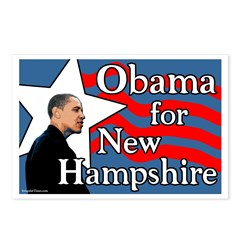Obama for New Hampshire Postcards