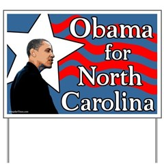 Obama for North Carolina Lawn Sign