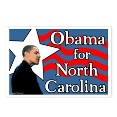 Obama for North Carolina Postcards
