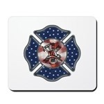 Mousepads for firefighters, mousepads for your desk at home, fire department or office.  Keeps your fire and flame themed mousepads surfing the net in style.  Great gift ideas from Bonfire Designs......