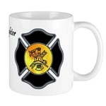 Mugs for firefighters, fire departments and fire rescue crews.  Coffee mugs, cocoa mugs and tea cups for you morning coffee or down time at the fire station.  Click to browse a huge variety of mugs with personalized themes...
