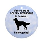 Heavenly Golden Retrievers Ornament