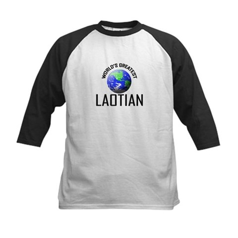 World's Greatest LAOTIAN Laos Kids Baseball Jersey by CafePress
