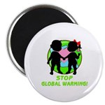 "Stop Global Warming 2.25"" Magnet (10 pack)"