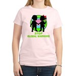 Stop Global Warming Women's Light T-Shirt