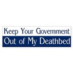 Keep Your Government Out (bumper sticker)