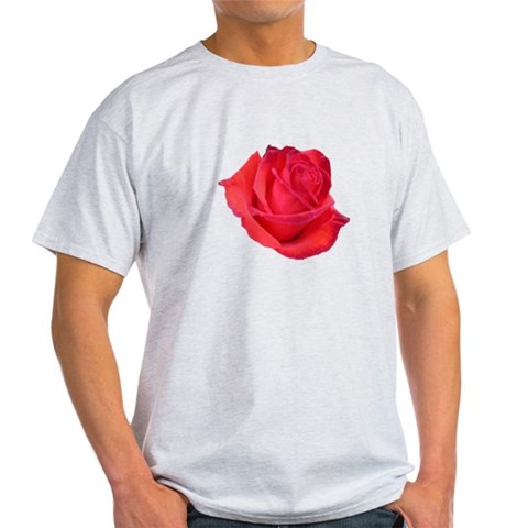 Camara Rose Red roses Light T-Shirt by CafePress