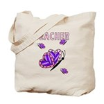 Teacher Butterfly Tote Bag