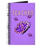 Teacher books, journals and note pads with personalized designs!