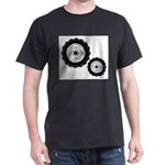Front And Rear Tractor Wheels T-Shirt