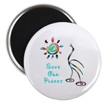 "Save Our Planet 2.25"" Magnet (10 pack)"