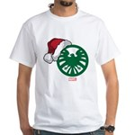 SHIELD Logo Santa White T-Shirt